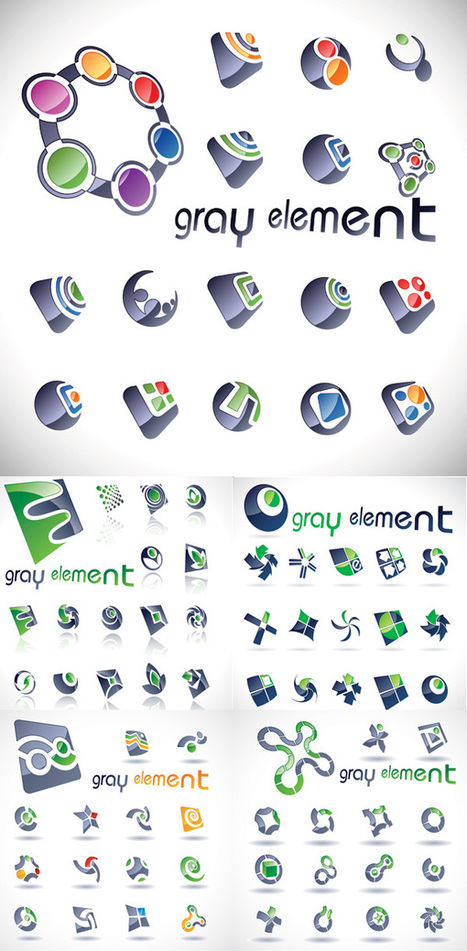 100+ Beautiful Free Vector Logos Design Templates For Your Inspiration | freevectors.me | Scoop.it