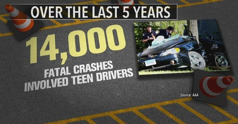 New study outlines teens' worst driving habits as deadly crashes spike | Kickin' Kickers | Scoop.it