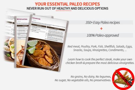 Paleo Recipe Book | Over 350 easy Paleo recipes | the paleo canuck | Scoop.it