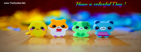 Facebook Cover Image - Colorful Day - TheQuotes.Net | Facebook Cover Photos | Scoop.it