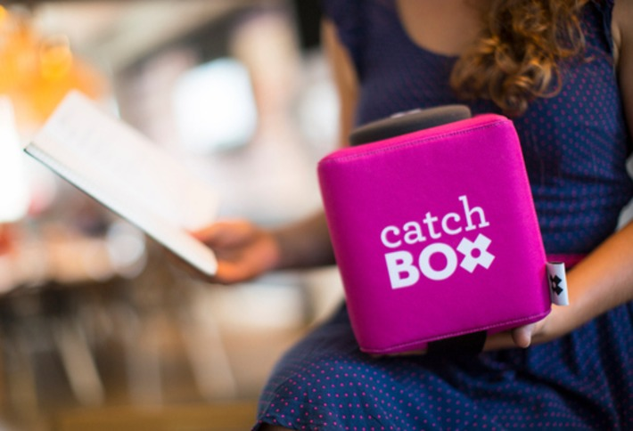 Catchbox Is A Throwable Microphone To Get The Audience Talking | Nerdy Needs | Scoop.it