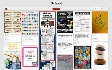 8 Ways to Teach With Pinterest -- THE Journal | PLN's- Personal Learning Networks | Scoop.it
