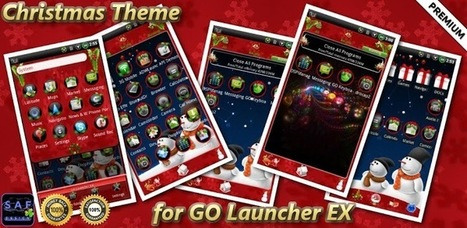 CHRISTMAS GO Launcher EX Theme v1.12 (paid) apk download | ApkCruze-Free Android Apps,Games Download From Android Market | kute | Scoop.it