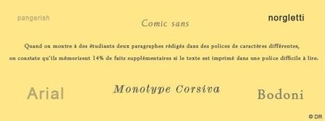 Les caractères difficiles à lire favorisent la mémorisation - HBR   Le français des PROs   Scoop.it