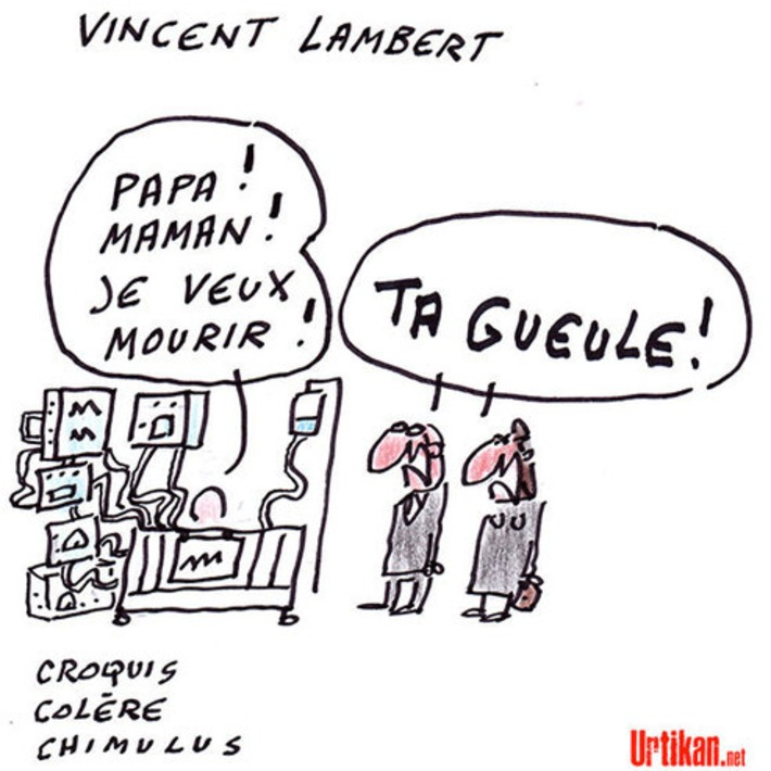 La Cour européenne ordonne le maintien en vie de Vincent Lambert | Baie d'humour | Scoop.it