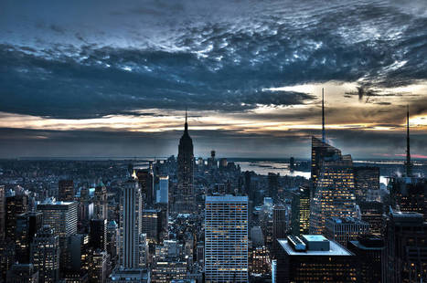 Evening New York. Extensive backgrounds cities for mobile devices. New York, USA. | CityWallpaperHD | Scoop.it