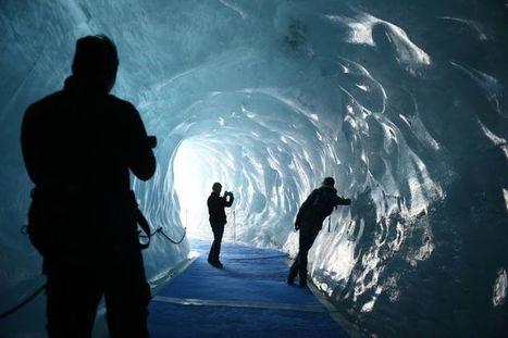 La Mer de Glace, haut lieu menacé du tourisme climatique dans les Alpes | Montagne et Tourisme d'Aventure | Scoop.it