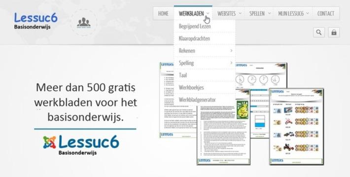 Edu-Curator: Op Lessuc6 vind je meer dan 500 gratis werkbladen voor het basisonderwijs | Educatief Internet - Gespot op 't Web | Scoop.it