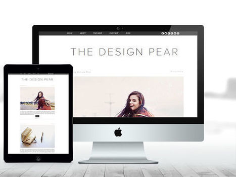 BLOGGER THEME – The Design Pear | Blogger themes | Scoop.it