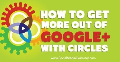 How to Get More Out of Google+ With Circles | Google+ ( Google Plus ) for Small Business | Scoop.it