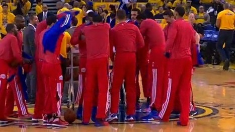 Clippers players stage protest after owner Donald Sterling's alleged racist comments   Gov & Law - Mitchell Enerson   Scoop.it
