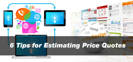 6 Tips for Estimating Price Quotes | Creativeoverflow | timms brand design | Scoop.it
