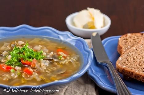 Vegetable soup | Healthy Whole Foods | Scoop.it