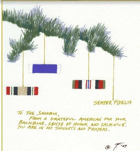 """»Holiday Greeting Card to the """"Sandbox"""" Download and send. 
