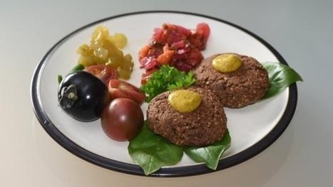 Vegan black walnut lentil burgers with sour cherry salsa on D is for Dinner   My Vegan recipes   Scoop.it