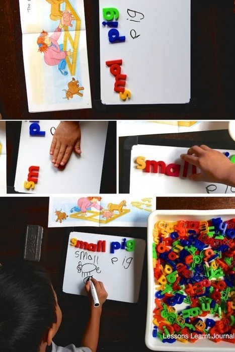 Reading: 3 Kindergarten Word Activities | 0-8 Education | Scoop.it