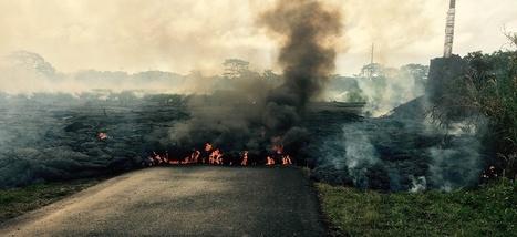 Une ville d'Hawaï est sur le point d'être engloutie par de la lave en fusion | Sustain Our Earth | Scoop.it