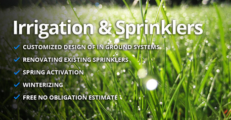 Irrigation Toronto | Sprinkler Systems | Blooming Toronto | Irrigation Toronto | Scoop.it
