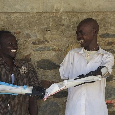 3D Printing: Sudanese volunteers are printing £60 limbs in six hours for local amputees (Wired UK)   Transformation et Innovation   Scoop.it