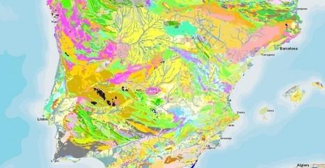 Así es el nuevo mapa geológico de España y Portugal | Biología de Cosas de Ciencias | Scoop.it