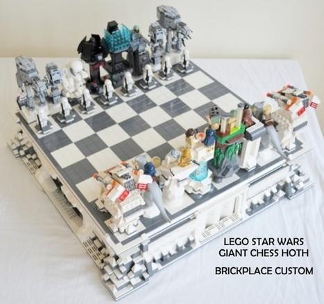 Un échiquier géant sur le thème Star Wars réalisé avec des LEGO | And Geek for All | Scoop.it