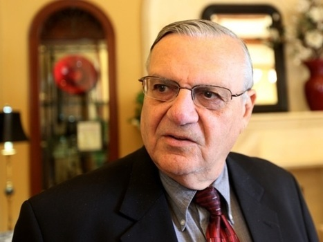 Maricopa County Sheriff Joe Arpaio officially charged with criminal contempt | Rights & Liberties | Scoop.it