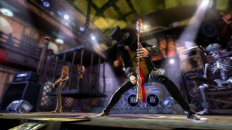 'Guitar Hero' Creator Reveals Details on the new 'Rock Band Blitz' | Social Music Gaming | Scoop.it