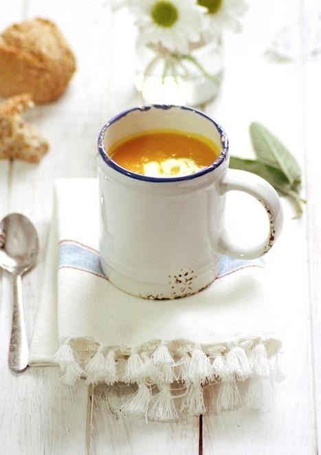 Sopa de calabaza fácil. Receta   Mis recetas favoritas   Scoop.it