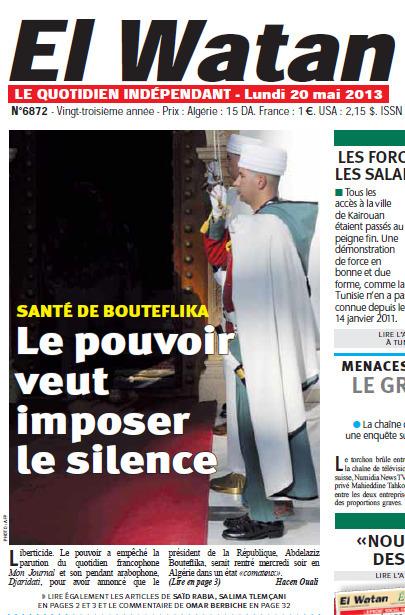 La presse algérienne dénonce la censure sur l'état de santé de Bouteflika | DocPresseESJ | Scoop.it