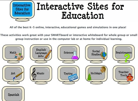 Interactive Learning Sites for Education | 21st Century Concepts-Technology in the Classroom | Scoop.it