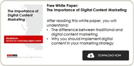 Cinq conseils pour une stratégie de marketing de contenu - Mediaforta   Content marketing, Web design, Merchandising   Scoop.it