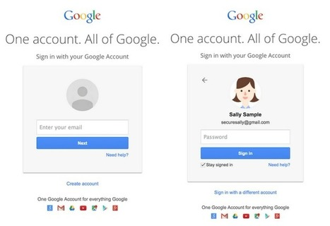 Gmail's New Login Screens Hints At A Future Beyond Passwords | JANUA - Identity Management & Open Source | Scoop.it