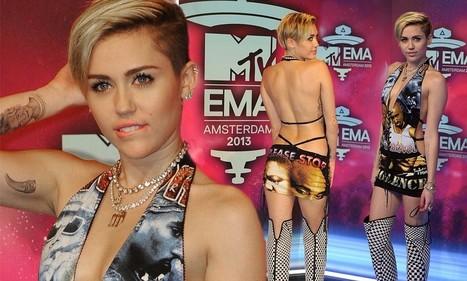 Miley Cyrus at 2013 MTV EMAs | Video Ratings | Scoop.it