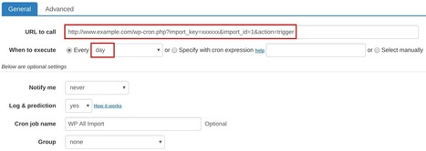 How to set up cron job for WP All Import | How to set cron jobs | Scoop.it