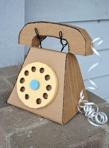 Maman fabrique moi un téléphone en carton | SEO | Scoop.it
