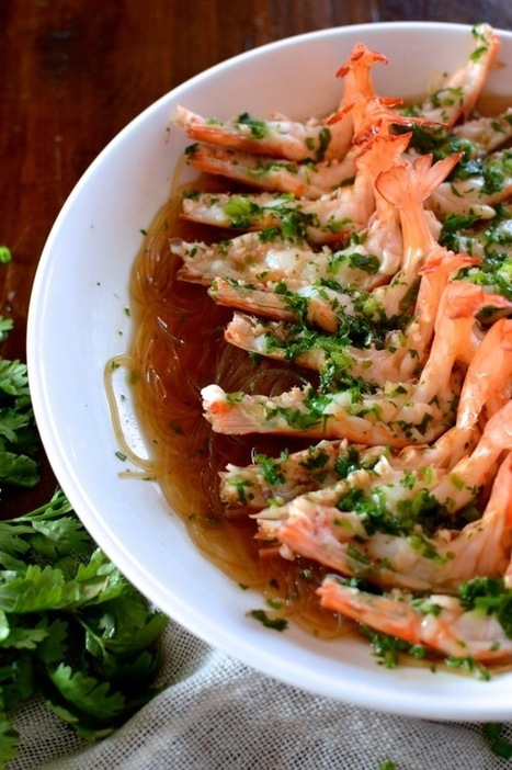 Steamed Shrimp with Glass Noodles - The Woks of Life | Coffee & food Junkies | Scoop.it