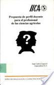 Propuesta De Perfil Docente Para El Profesional De Las Ciencias Agricolas | Nuevo perfil docente y formación requerida | Scoop.it