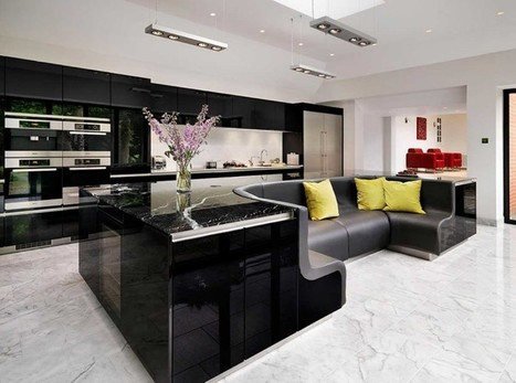 Kitchen Island With Built-in Sofa UpgradesStylish Home | Inspired By Design | Scoop.it