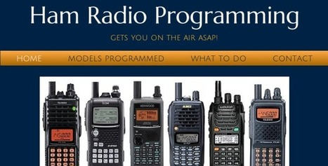 Ham Radio HT Programming | AmateurRadio.com | KH6JRM's Amateur Radio Blog | Scoop.it