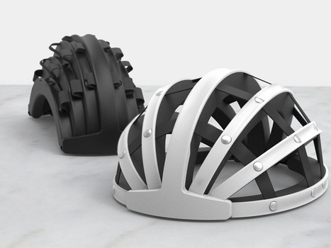 Impression 3D : Le casque de vélo pliable FEND sur Kickstarter - Additiverse | ocmq | Scoop.it