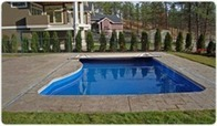 Waterfalls, Raised Walls, Unique Shapes by Poolcovers Inc. | 800-6627665 | Pool Covers | Scoop.it