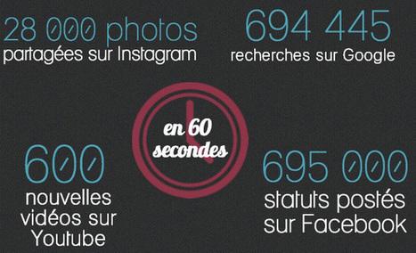 NetPublic » 15 infographies pour comprendre les enjeux du numérique | Vie digitale - comprendre les enjeux | Scoop.it