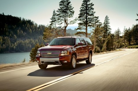 2014 Chevy Suburban Official Changes - cheapestcarnews.com | affordable large sedan | Scoop.it