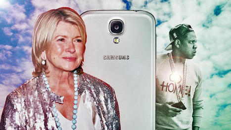 How Stars Like Jay Z And Martha Stewart End Up With Samsung Devices | Marketing in Motion | Scoop.it