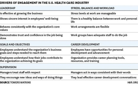 Employee Engagement Drives Health Care Quality and Financial Returns | Harmonious and Balanced Workplace | Scoop.it