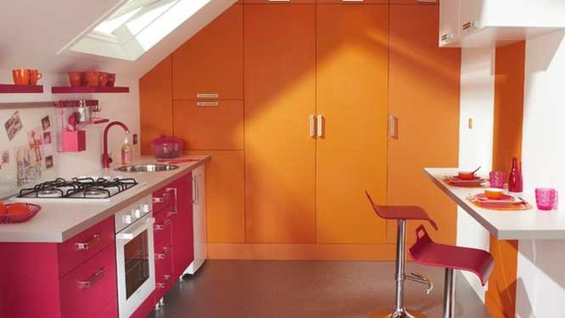 La couleur orange ensoleille la déco ! | La Revue de Technitoit | Scoop.it
