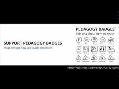 Pedagogy Badges | JISC Elevator | The e-learning Professional | Scoop.it
