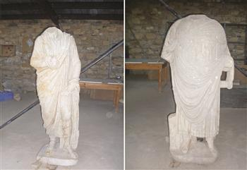 ARCHAEOLOGY - Headless statues unearthed in Aphrodisias excavations | Archaeology News | Scoop.it