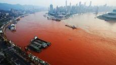Vídeo: Aguas del río Yangtsé se tiñen de un preocupante rojo   Digital Sustainability   Scoop.it
