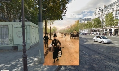 Classic paintings of world cities meet Google Street View – in pictures | EFL and ESL Techno Skills | Scoop.it